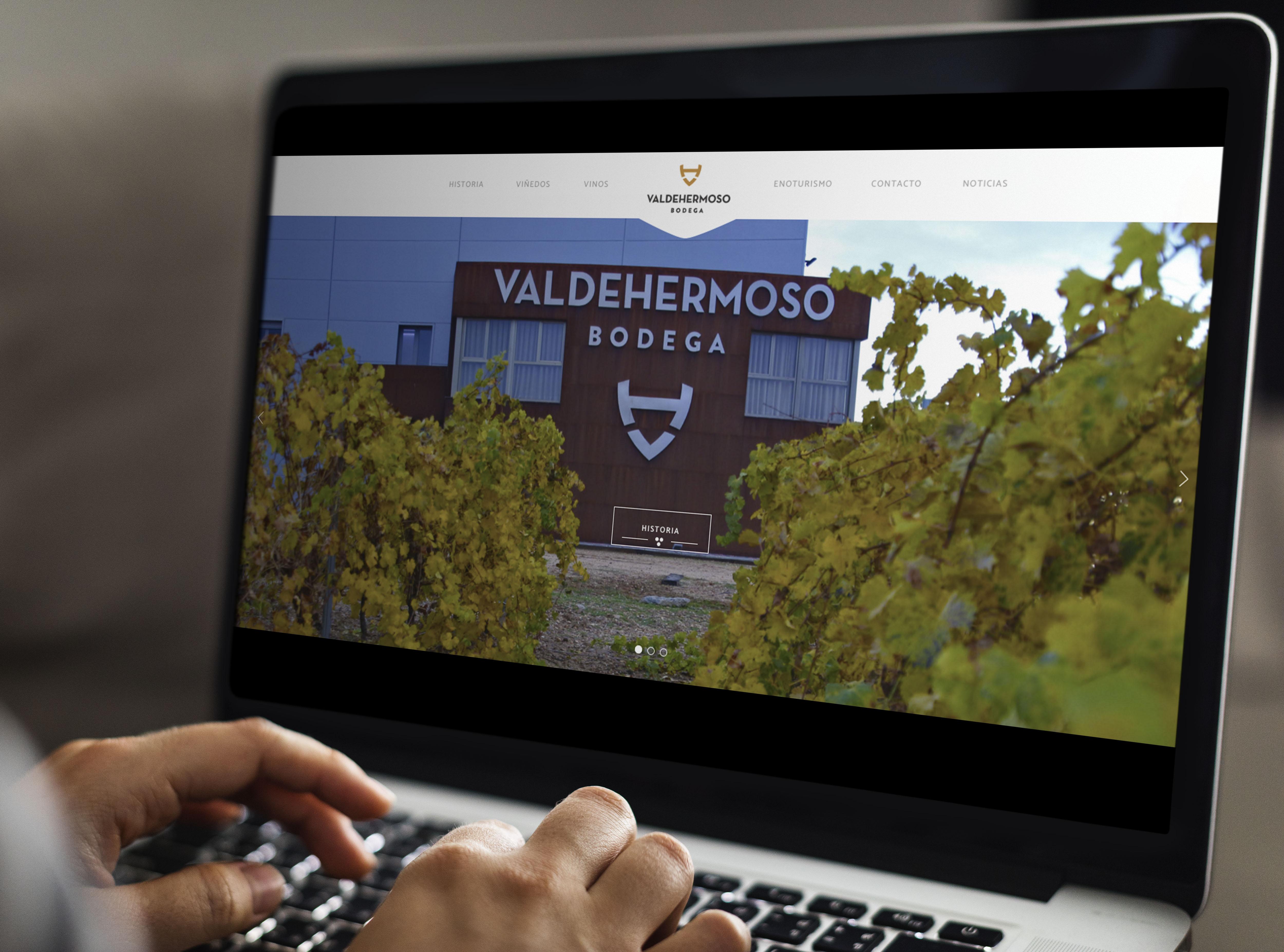 Mockup Web Valdehermoso